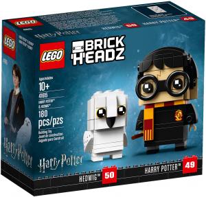 LEGO HARRY POTTER e EDVIGE  BRICKHEADZ 41615