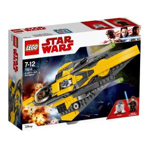LEGO STAR WARS JEDI STARFIGHTER DI ANAKIN 75214