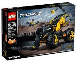 LEGO TECHNIC VOLVO RUSPA GOMMATA ZEUX 42081