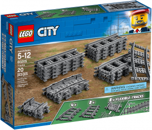 LEGO CITY TRAINS BINARI PER LA FERROVIA 60205