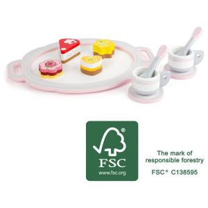 Servizio da caffè con pasticcini Accessorio cucina giocattolo