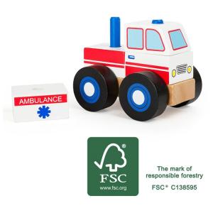 Veicolo da costruire Ambulanza in legno