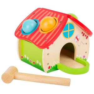 Casetta in legno da martellare