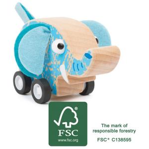 Veicolo giocattolo a trazione Elefante