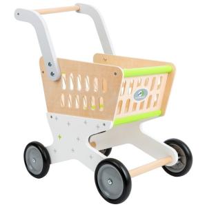 Carrello della spesa giocattolo in legno per bambini Alla moda