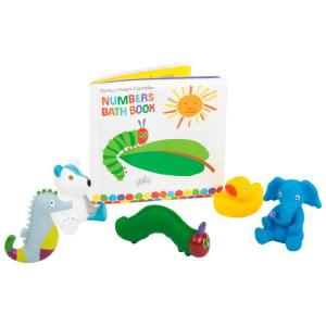 Libro impermeabile con animali Bruco Maisazio Gioco per il bagnetto bambino