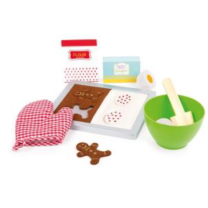 Biscottini natalizi Set da forno in legno accessori cucina giocattolo