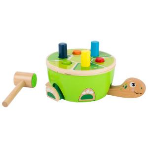 Colpisci la tartaruga Gioco in legno per bambini