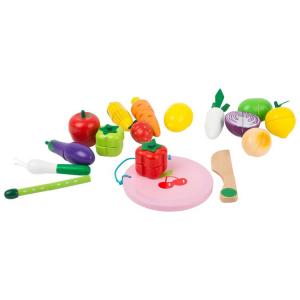 Set magnetico per frutta e verdura da taglio Accessorio cucina bancarella