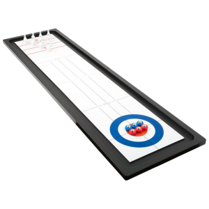 Curling da tavolo e bowling 2 in 1