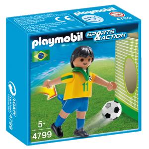 PLAYMOBIL CALCIATORE BRASILE 4799