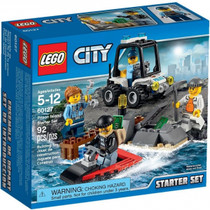 LEGO CITY STARTER SET POLIZIA DELL'ISOLA 60127