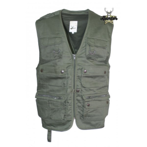 Gilet Multitasche Safari Reporter (Caccia&Pesca)