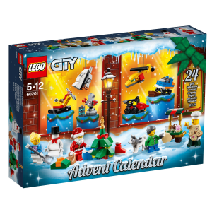 LEGO CITY CALENDARIO DELL'AVVENTO 60201