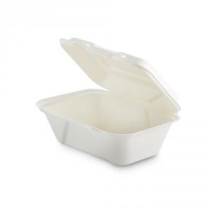 Contenitore asporto con coperchio biodegradabile - 600ml
