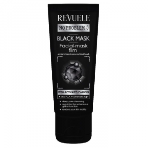 Revuele Black Mask With Activated Carbon 80ml