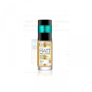 Eveline Matt Pro Expert Mattifying And Covering Foundation 401 Cool Beige 30ml