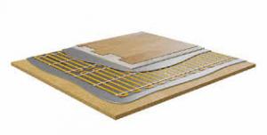 Impianto radiante specifico per pavimenti in legno lamellare  parquet .  Prezzo  €/mq
