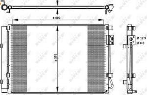Condensatore climatizzazione Hyundai I20