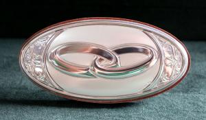 Icona matrimonio in argento