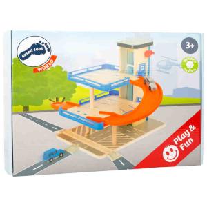 Gioco Parcheggio Auto Business class in legno