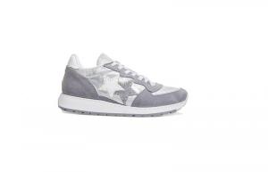 Sneaker running 2star grigio/bianco