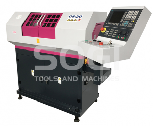 Tornio CNC SOGI M2C-450 a controllo numerico SIEMENS 808D 250 x 450 mm con accessori