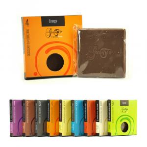Tavolette di cioccolato  45 gr, Energy cioccolato fondente