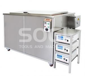 Vasca ultrasuoni industriale lavapezzi riscaldata da 672L SOGI VL-U6720R