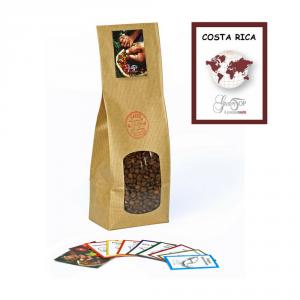 Caffè monorigine in grani Costa Rica confezioni disponibili: 1 Kg, 500 grammi e 250 grammi
