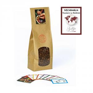 Caffè monorigine in grani Nicaragua - Pacamara La Bendicion confezioni disponibili: 1 Kg, 500 grammi e 250 grammi