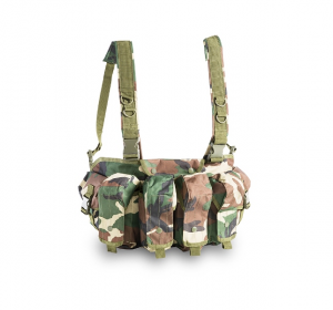 OPENLAND TACTICAL CHEST RIG WOODLAND