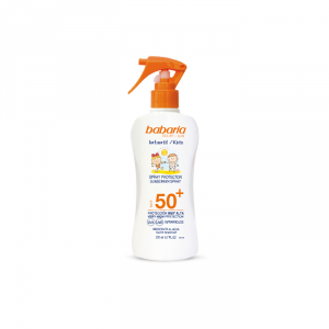Babaria Sunscreen Spray With Aloe Vera For Children Spf50+ 200ml