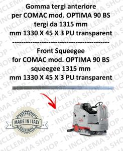 goma de secado delantera tergi da 1315 mm para fregadora COMAC tergipavimento OPTIMA 90 BS