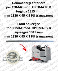 goma de secado delantera tergi da 1315 mm para fregadora COMAC tergipavimento OPTIMA 85 B