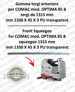 Bavette avant suceur da 1315 mm pour autolaveuses COMAC tergipavimento OPTIMA 85 B