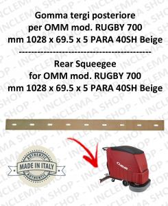 RUGBY 700 Bavette arrière pour autolaveuses OMM