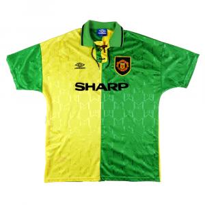 1992-94 Manchester United/Newton Heath  Maglia Terza XL