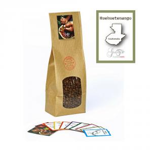 Caffè monorigine in grani Guatemala Huehuetenango Presidio Slow Food confezioni disponibili: 1 Kg, 500 grammi e 250 grammi