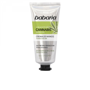Babaria Hand Cream With Cannabis Seed Oil 50ml