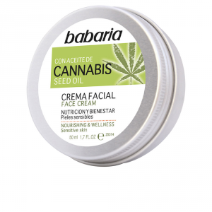 Babaria Face Cream With Cannabis Seed Oil 50ml