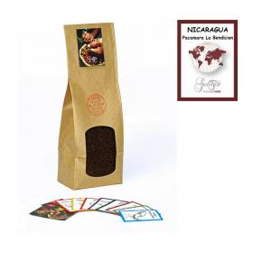 Caffè Caffè monorigine Nicaragua - Pacamara La Bendicion macinato per moka ed espresso confezione da 250 grammi