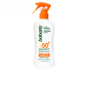 Babaria Sunscreen Spray For Sensitive Skin Spf50 200ml