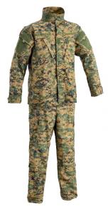 DEFCON 5 UNIFORME COMBAT ARMY MARPAT TG
