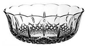 Coppa Frutta Macedonia in Cristallo Stile Opera Rcr cm.23x23x9h Ø23