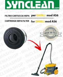 AS6  FILTRO CARTUCCIA HEPA PER aspirapolvere GHIBLI - cod: 2512755
