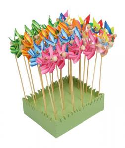 Display espositore girandola vento fiore per negozio edicola Set da 24 pezzi
