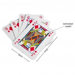 Carte da gioco giganti BS Toys GA054