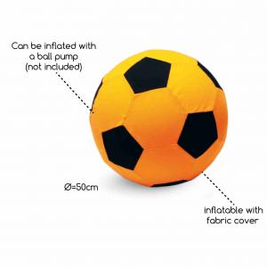 Palla da Calcio Gonfiabile Gigante BS Toys GA134