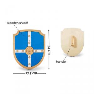 Scudo del cavaliere in legno Buitenspeel GA239